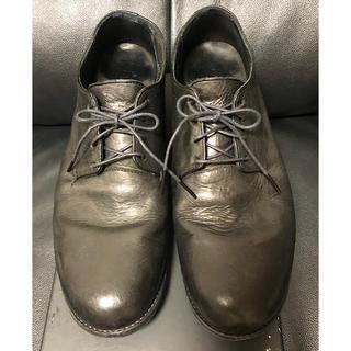イサムカタヤマバックラッシュ(ISAMUKATAYAMA BACKLASH)のバックラッシュ定価7.7万円イタリーショルダーレザーシューズ短靴26黒(ドレス/ビジネス)