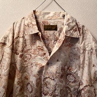 ラルフローレン(Ralph Lauren)の90s ヴィンテージ XL オーバーサイズ 柄シャツ(シャツ)