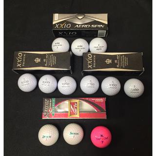 ダンロップ(DUNLOP)の最終値下げ‼️XXIO SRIXON KASCO ゴルフボール12個 新品 (その他)