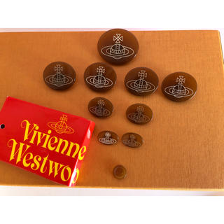 ヴィヴィアンウエストウッド(Vivienne Westwood)のヴィヴィアンウエストウッド スペアボタン 予備 ヴィヴィアン ボタン オーブ(その他)