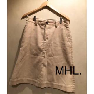 エムエイチアイバイマハリシ(MHI by maharishi)のコーデュロイスカート(ひざ丈スカート)