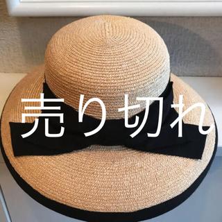 フォクシー(FOXEY)のフォクシー 帽子(麦わら帽子/ストローハット)