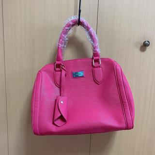 デュラス(DURAS)のピンク ハンドバッグ DURAS(ハンドバッグ)