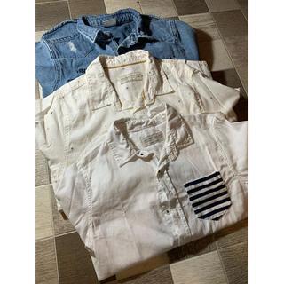 ザラキッズ(ZARA KIDS)のZARABOYS シャツ3枚セット(ジャケット/上着)