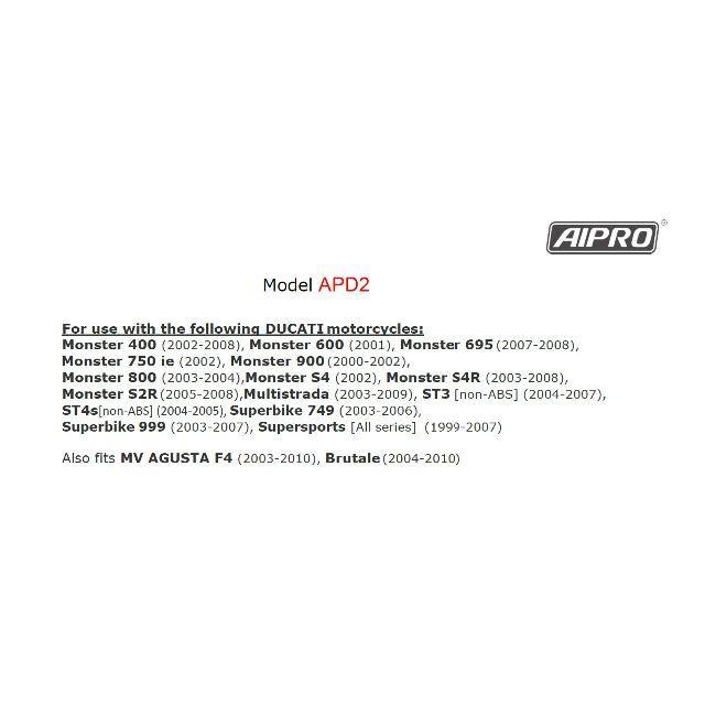 アイプロ製★シフトインジケーター APD2 赤 SS1000DS 999 自動車/バイクのバイク(パーツ)の商品写真
