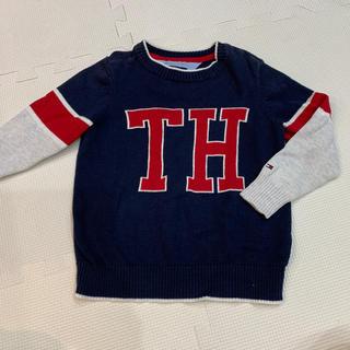 トミーヒルフィガー(TOMMY HILFIGER)のトミー 2T コットンニット100%(ニット/セーター)