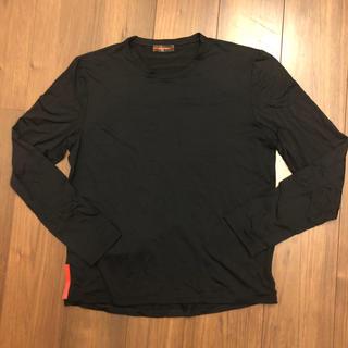プラダ(PRADA)のプラダスポーツ ブラックロンT シャツ(Tシャツ/カットソー(七分/長袖))