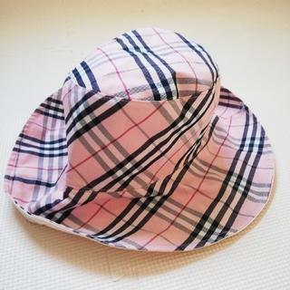 バーバリーブルーレーベル(BURBERRY BLUE LABEL)のバーバリーブルーレーベル 帽子 used(ハット)