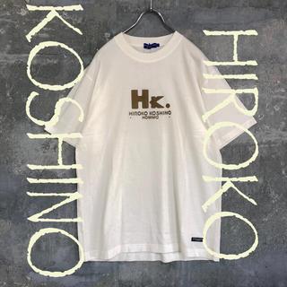 ヒロココシノ(HIROKO KOSHINO)のHIROKO KOSHINO Tシャツ オフホワイト L メンズ(Tシャツ/カットソー(半袖/袖なし))