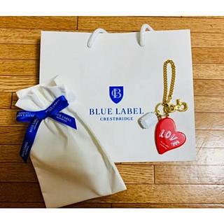 バーバリーブルーレーベル(BURBERRY BLUE LABEL)のブルーレーベル ハートのキーホールダー♡(キーホルダー)