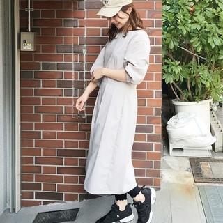 ハコ(haco!)のhako7分袖ワンピース(ひざ丈ワンピース)