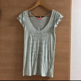デイシーミー(deicy me)のデイシーミー トップス 半袖 タンク カットソー(Tシャツ(半袖/袖なし))