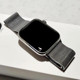 アップルウォッチ(Apple Watch)のApple watch series5 ステンレススチール44mm(スマートフォン本体)