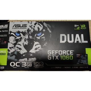 エイスース(ASUS)の(とむさん専用)ASUS GeForce GTX1060 DUAL OC 3G(PC周辺機器)