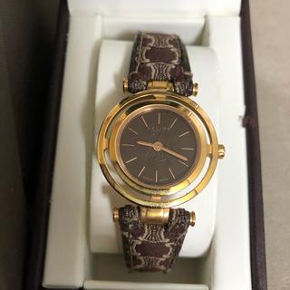 セリーヌ(celine)の高級 セリーヌ 腕時計 ブランド レディース ロゴ入り ヴィンテージ(腕時計)