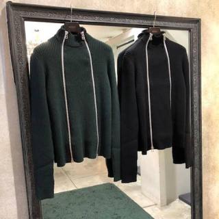 ジョンローレンスサリバン(JOHN LAWRENCE SULLIVAN)のjohn lawrence sullivan zip knit(ニット/セーター)