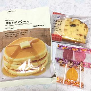 ムジルシリョウヒン(MUJI (無印良品))の無印良品自分でつくる米粉のパンケーキ、パウンドケーキ、棒付きキャンディ(菓子/デザート)