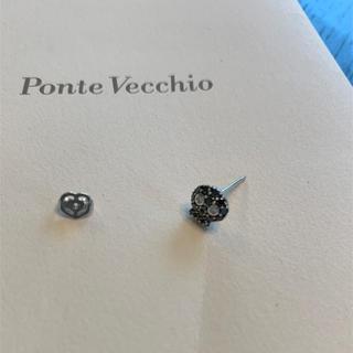 ポンテヴェキオ(PonteVecchio)のポンテヴェキオ ブラックスカルピアス 片耳(ピアス)