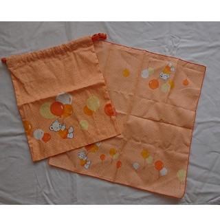 ファミリア(familiar)の未使用 ファミリア 巾着&ランチクロス(ランチボックス巾着)