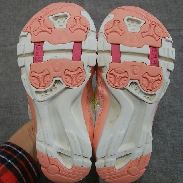 SUPERSTAR(スーパースター)の女のコ スーパースター スニーカー 18センチ キッズ/ベビー/マタニティのキッズ靴/シューズ(15cm~)(スニーカー)の商品写真
