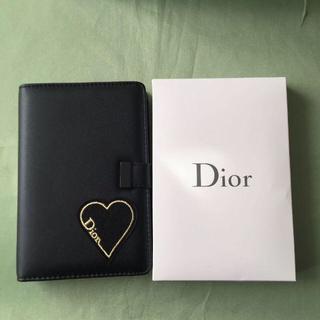 ディオール(Dior)のDior ディオール 手帳 レザーカバーのノートブック(手帳)