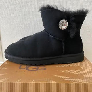 UGG - 【美品】UGG MINI BAILEY BUTTON BLINGムートンブーツ
