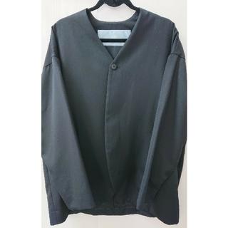 Dulcamara - Dulcamara よそいきノーカラージャケット BLACK
