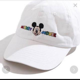 ウィゴー(WEGO)のウィゴーWEGOディズニー★ミッキー★帽子★キャップ★Disney★フリーサイズ(キャップ)