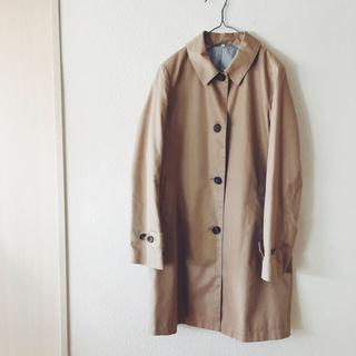 MUJI (無印良品) - 無印良品 ステンカラーコートの通販 by ひよこ's shop ムジルシリョウヒンならラクマ
