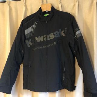 カワサキ(カワサキ)のKawasaki×RS TAICHI ライダースジャケット Lサイズ(ライダースジャケット)