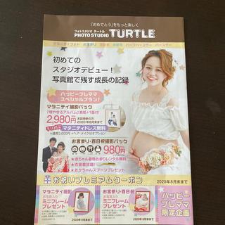 フォトスタジオ Turtle クーポン券(キッズ/ファミリー)