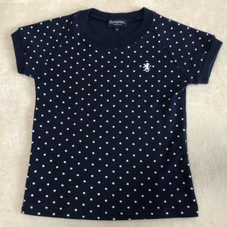 ジムフレックス(GYMPHLEX)のジムフレックス ネイビー ドット シャツ 100(Tシャツ/カットソー)