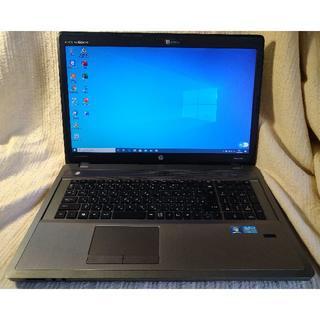 ヒューレットパッカード(HP)のHP ProBook 4740s 17インチSSD搭載(ノートPC)