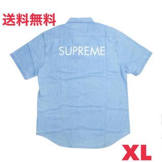 シュプリーム(Supreme)の込 SUPREME Classic Logo Denim Shirt XL(シャツ)