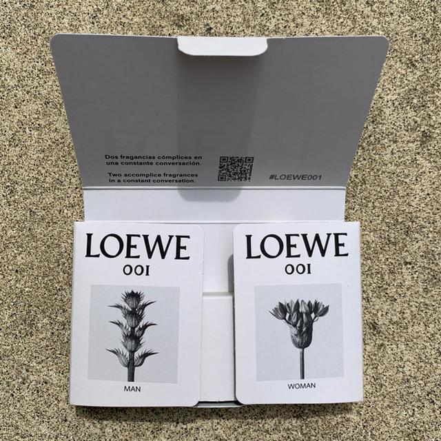 LOEWE(ロエベ)のロエベ 001 マン/ウーマン オードパルファン 香水 2ml セット コスメ/美容の香水(香水(女性用))の商品写真