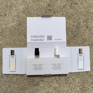 ロエベ(LOEWE)のロエベ 001 マン/ウーマン オードパルファン 香水 2ml セット(香水(女性用))