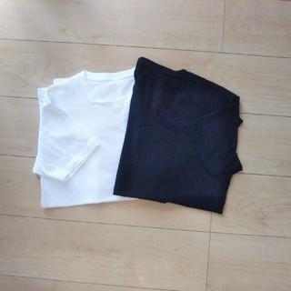 ユニクロ(UNIQLO)のUNIQLO ドライカラーTシャツ メンズS(Tシャツ/カットソー(半袖/袖なし))
