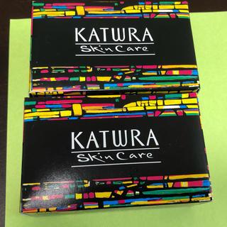 カツウラケショウヒン(KATWRA(カツウラ化粧品))のカツウラ・サボン 石鹸2個(ボディソープ/石鹸)
