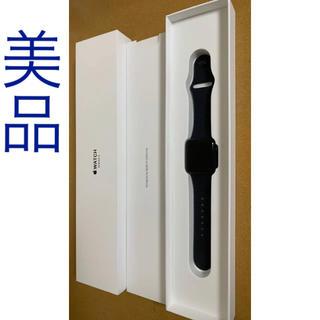 アップルウォッチ(Apple Watch)のApple Watch series 3スペースグレー 38mm GPS(腕時計(デジタル))