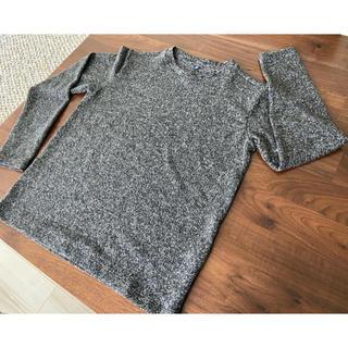 ユニクロ(UNIQLO)のUNIQLO 長袖 薄手ニット サイズ:150cm(ニット)