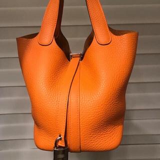 エルメス(Hermes)のCoco様専用☆エルメス正規美品ピコタンロックPMハンドバッグ(ハンドバッグ)