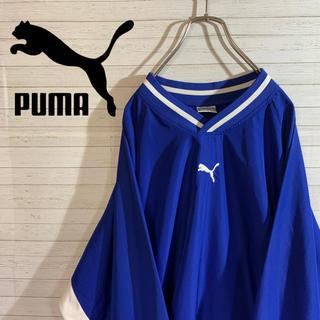 【PUMA】プーマ ヒットユニオン製 ナイロンプルオーバー ワンポイントロゴ