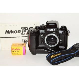 ニコン(Nikon)の【美品】Nikon ニコン F4s MB-21(フィルムカメラ)