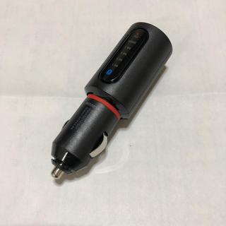 エレコム(ELECOM)のELECOM 車用FMトランスミッター ブラック Bluetooth(カーオーディオ)