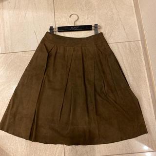 フォクシー(FOXEY)のフォクシースカート(ひざ丈スカート)
