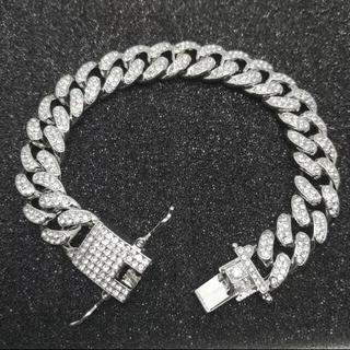 アヴァランチ(AVALANCHE)の新品 未使用  CZダイヤモンド ブレスレット360度 フル(ブレスレット)