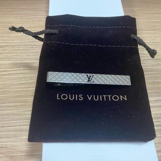 ルイヴィトン(LOUIS VUITTON)の新品 未使用 ルイヴィトン ネクタイピン LOUIS VUITTON 美品 高級(ネクタイピン)