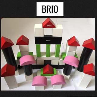 ブリオ(BRIO)のBRIO ブリオ 積み木50ピース ダメージあり(積み木/ブロック)