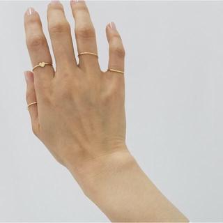 スピックアンドスパン(Spick and Span)のluijewelry  heart ring 松田未来今日迄お値引き、削除(リング(指輪))