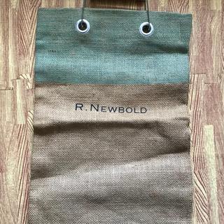 アールニューボールド(R.NEWBOLD)のR.ニューボールド 麻トートバッグ 未使用(トートバッグ)